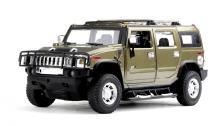 Машинка р/у 1:24 Meizhi лиценз. Hummer H2 металлическая