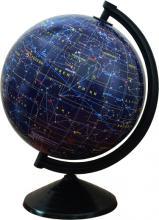 Глобус с картой звёздного неба, с подсветкой диаметр 26см.