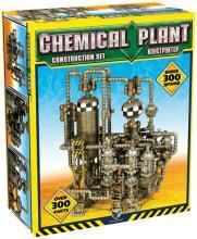 Химический завод с элементами Платформера (Chemical Plant) строительный набор