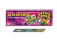 """Домино """"Фрукты и овощи"""", арт.2643, Технок, Украина"""