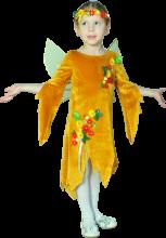 """Карнавальный костюм """"Фея Осень"""", 104-110 см, 4-5 лет, р.30"""