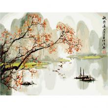 Картина по номерам ''Спокойствие востока'', 50х65 см, Идейка