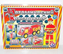 """Конструктор металлический """"Пожарная техника"""", арт.2056, Технок, Украина"""