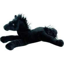 Лошадь черная мягкая игрушка Fancy