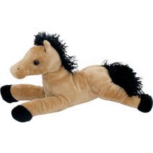 Лошадь коричневая мягкая игрушка Fancy