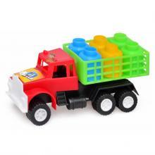 "Машина ""М"" грузовик с бидонами, 18х9х7,5см ,Kinderway"
