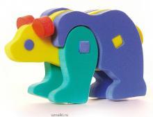 Мягкие 3D пазлы-Медведь