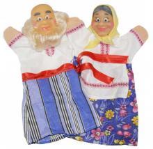 """Набор кукол-рукавичек """"ДЕД И БАБКА"""" (2 персонажа)"""