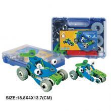"Конструктор ""Квадроцикл и машина"" (2 модели), гибкий пластик, Build&Play"