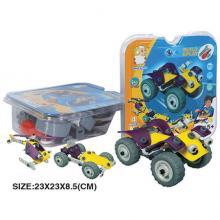 "Конструктор ""Квадроцикл, самолёт, вертолёт, машина"" (4 модели), Build&Play"
