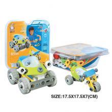 """Конструктор """"Внедорожник и дрегестер"""" (2 модели), гибкий пластик, Build&Play"""