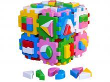 """Сортер куб """"Умный малыш - Суперлогика"""", арт.2650, Технок, Украина"""