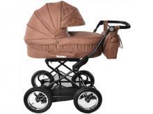 Универсальная коляска 2 в 1 Baby Tilly Family T-181 Brown (коричневая)