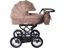 Универсальная коляска 2 в 1 Baby Tilly Family T-181 Beige (бежевая)