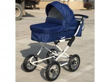 Универсальная коляска 2 в 1 Baby Tilly Family T-181 Blue (синяя)