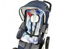 Вкладыш-матрасик для коляски Kinder Comfort 1006 (в ассортименте)